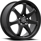 MSR Wheels <br>013 Black