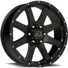 Eagle Alloy Wheels<br> Series 015  Matte Black