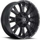 Eagle Alloy Wheels<br> Series 018 Black