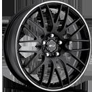 MSR Wheels <br>Style 045 Hyper Black