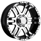 Eagle Alloy Wheels<br> Series 079 Superfinished with Black Trims