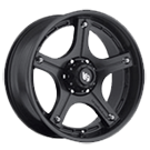 LRG Wheels<br /> 106 Matte Black
