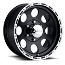 Eagle Alloy Wheels<br> Series 185 Black