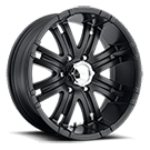 Eagle Alloy Wheels<br> Series 197 Matte Black