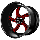 American Force Wheels<br /> NIGHTMARE FP5 Black