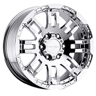 Vision Wheels <br>375 Warrior Chrome