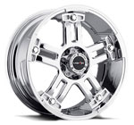 V-TEC Wheels Warlord 394 Chrome