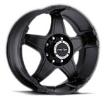 V-TEC Wheels Wizard 395 Matte Black