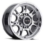 V-TEC Wheels Fury 399 Phantom Chrome