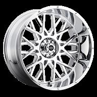 Vision Wheels 412 Rocker </br>Chrome