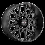 Vision Wheels 412 Rocker </br>Satin Black