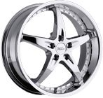 Milanni Wheels ZS-1 Chrome