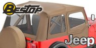 Bestop Replace-a-Top Soft Tops <br>76-83 Jeep CJ5
