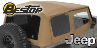 Bestop Supertop NX Soft Tops <br/>88-95 Jeep YJ