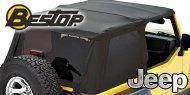Bestop Trektop NX Soft Tops <br> 97-06 Jeep TJ