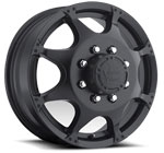 Vision Wheels <br>Crazy Eightz 715 Black Front