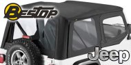 Bestop Sailcloth Soft Tops <br> Replace-a-Top <br> 88-95 Jeep YJ