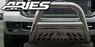 Aries Big Horn<br> 4 Inch Stainless Steel Bull Bars