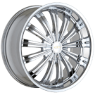 Baccarat Wheels<br>Taboo 1160 Chrome