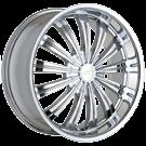 Baccarat Wheels<br>Taboo 1160 Chrome