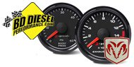 BD Diesel Dodge <br />Performance Gauges
