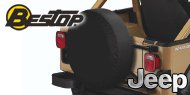 Bestop Jeep Tire Covers <br>Medium 29 x 9