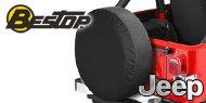 Bestop Jeep Tire Covers X-Small (Suzuki Samurai)