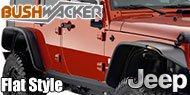 Bushwacker<br /> Jeep Flat Style®<br /> Fender Flares