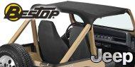 Bestop Strapless Bikini® Tops <br> 80-86 Jeep CJ7