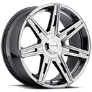 Cruiser Alloy </br> 918V Paradigm Chrome Wheels