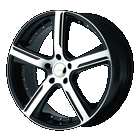 Diamo Wheels<br>37 Karat Black
