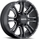 DPR Offroad Commando <br />Black with Silver Trim