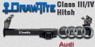 Draw-Tite Class III/IV Hitches Audi