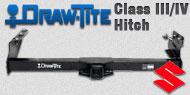 Draw-Tite Class III/IV Hitches<br />Suzuki