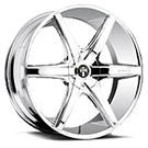 DUB Wheels Rio6 S112 <br /> Chrome