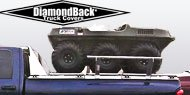 DiamondBackCovers ATV Rear Load with HD Cab Guard