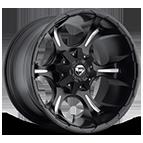 Fuel Wheels <br /> D523 - Dune Matte Black and Milled