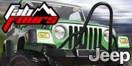 Fab Fours Hardcore Stinger Jeep Bumper