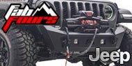 Fab Fours Stubby Bumper <br> Jeep Wrangler JK