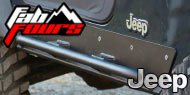Fab Fours Jeep <br>Rock Sliders