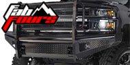 Fab Fours Black Steel Bumpers