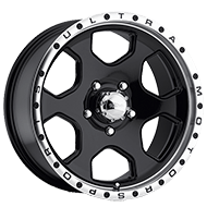 Ultra 175 Rogue Gloss Black with Diamond Cut and Clear Coat Wheels
