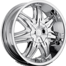 Platinum Wheels<br /> 413 Cloak Chrome