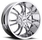 Platinum Wheels<br /> 406 America Chrome