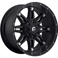 Fuel D531 Hostage Matte Black Wheels