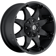 Fuel D509 Octane Matte Black Wheels