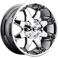 Fuel Wheels <br /> D520 -  Octane Chrome