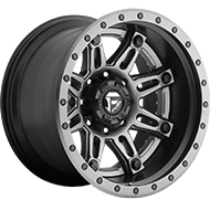 Fuel Wheels D232 Hostage II Matte Black