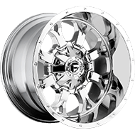 Fuel D516 Krank Deep Lip Chrome Wheels