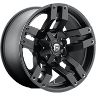 Fuel Wheels <br /> D515 -  Pump Matte Black